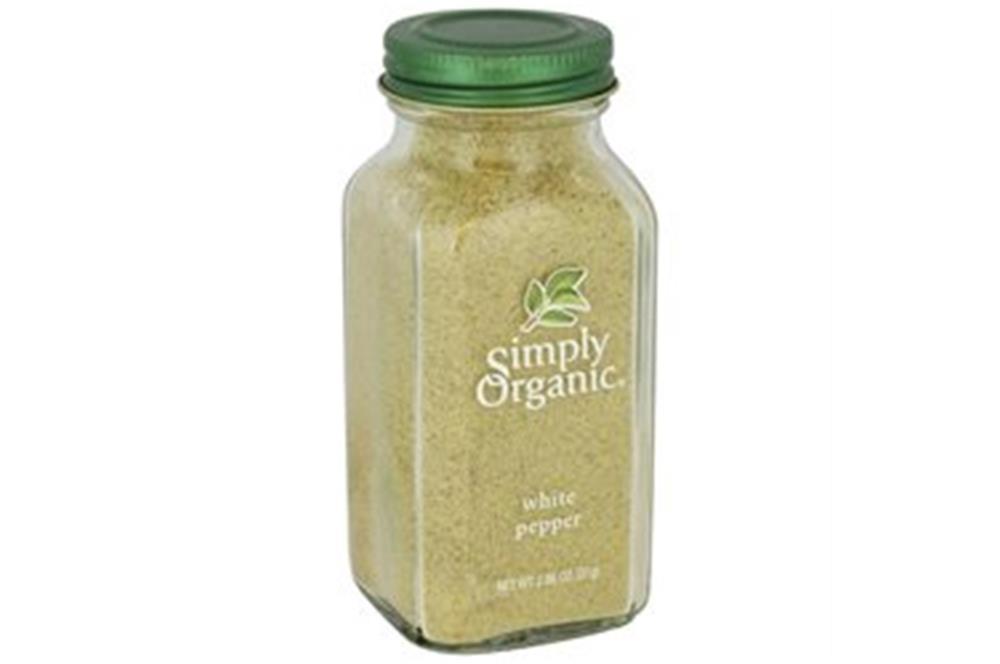 Simply Organic - White Pepper ( 6 - 2.86 OZ)