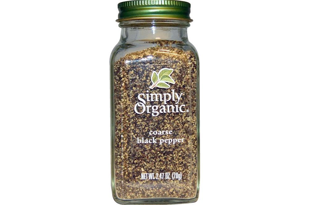 Simply Organic - Coarse Grind Black Pepper ( 6 - 2.47 OZ)