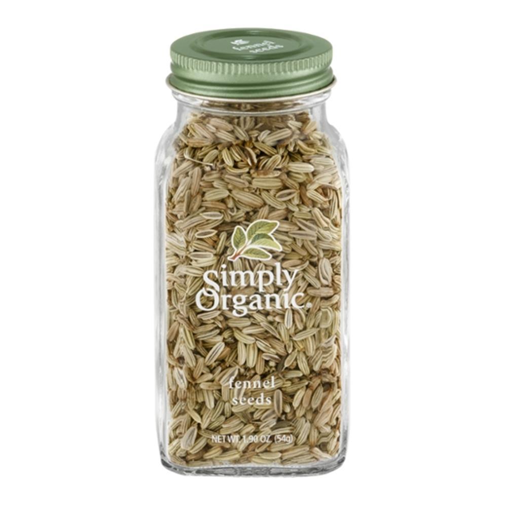 Simply Organic - Whole Fennel Seed ( 6 - 1.9 OZ)