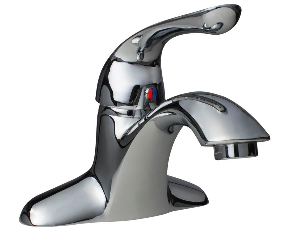 Sir Faucet 701 Chrome Single Handle Bathroom Faucet