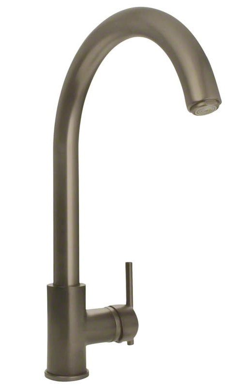 Sir Faucet 711 Brushed-Nickel Single Handle Kitchen Faucet
