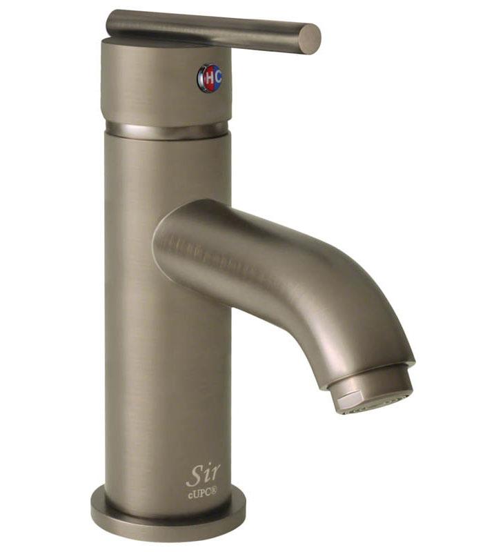Sir Faucet 753 Brushed-Nickel Vessel Faucet