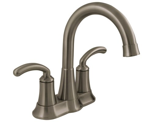 Sir Faucet 7042 Brushed Nickel Two Handle Lavatory Faucet