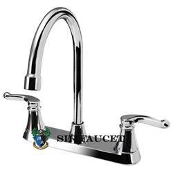 Sir Faucet 7142-C Double Handle Faucet