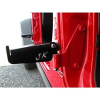 JP-5021: Foot Peg Set, 2007-2018 JKU Wrangler, REAR DOORS