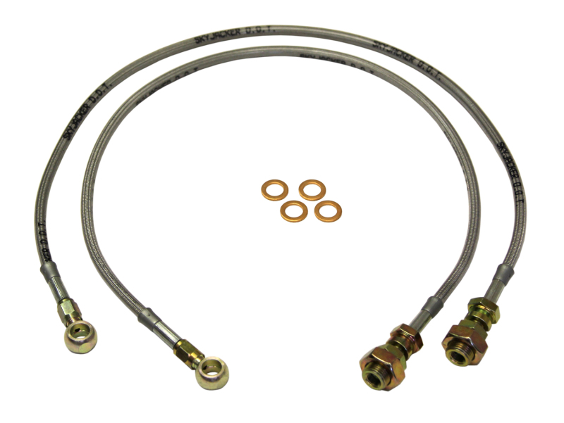 Stainless Steel Brake Line Front