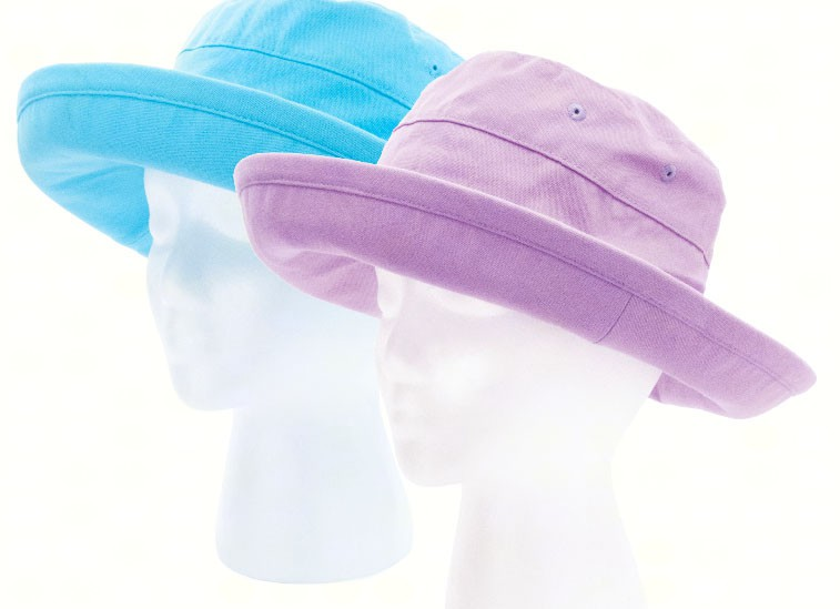 Casual Bucket Hat 2 pack (1 Purple, 1 Teal)