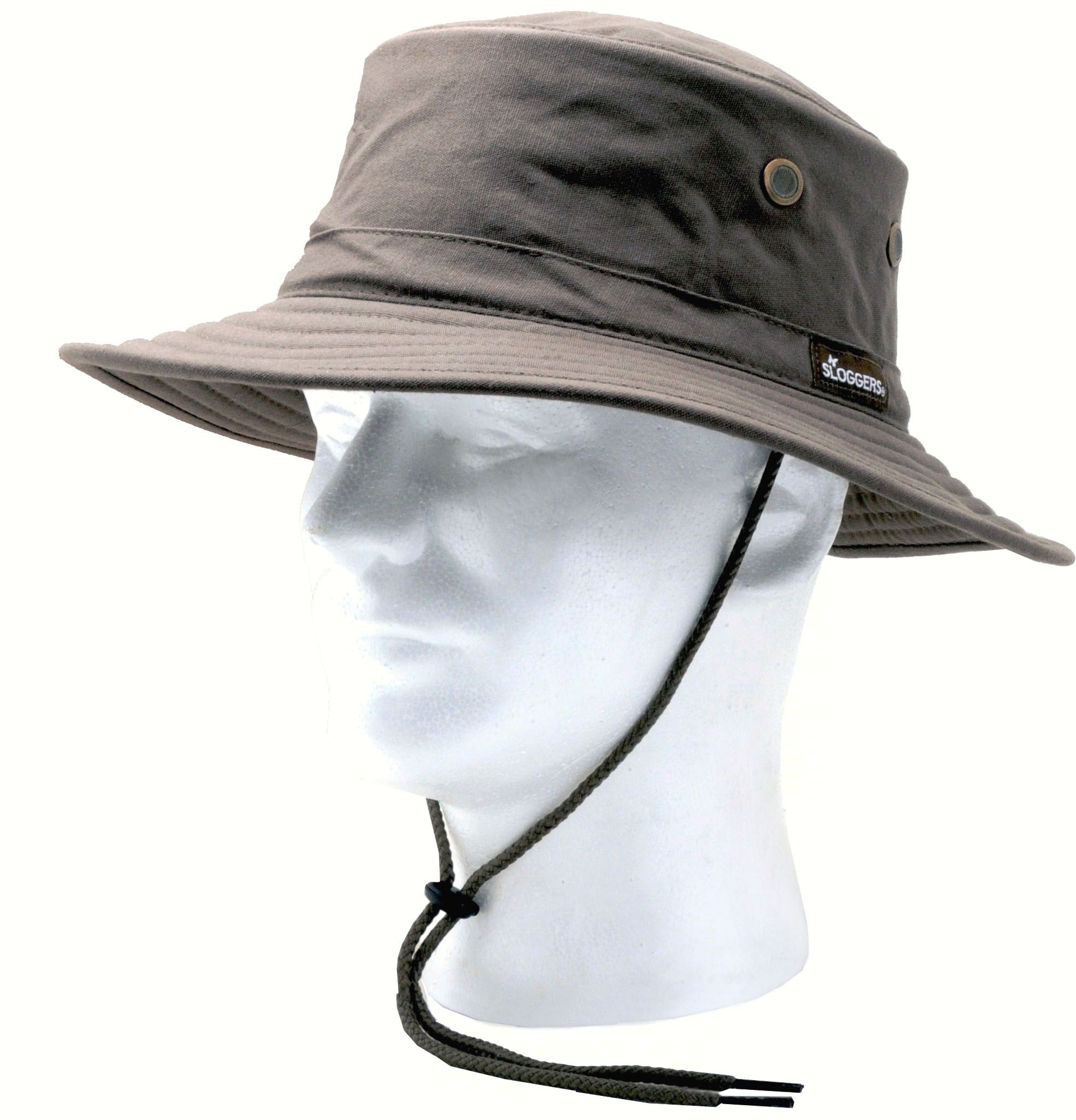 Classic Cotton Hat Dark Brown