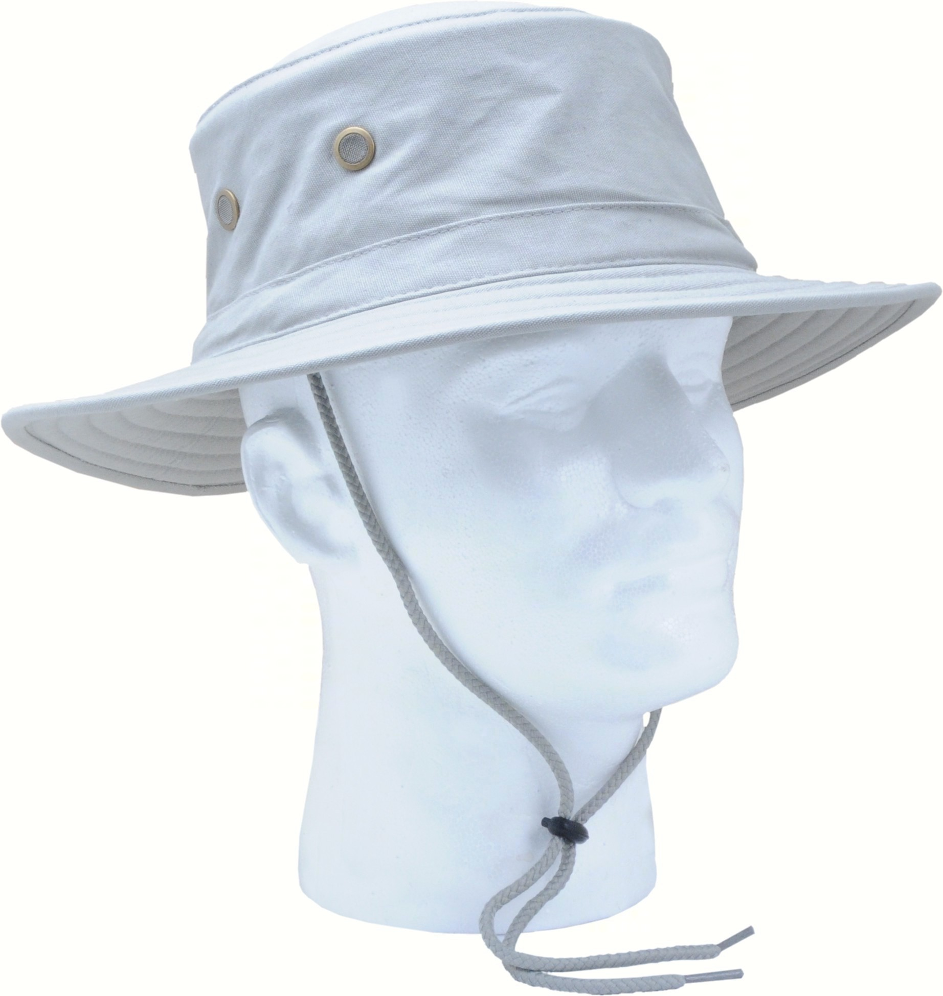 Classic Cotton Hat Grey