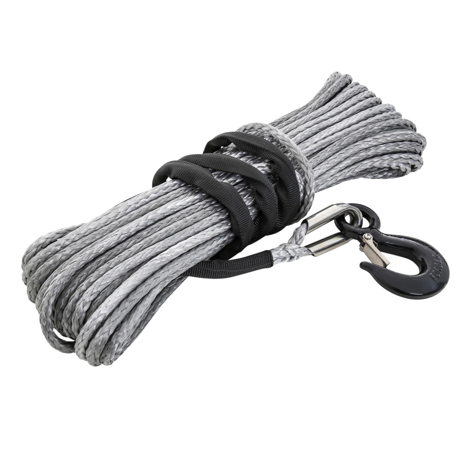 8,000 Pound XRC Synthetic Winch Rope, 100 Foot Length