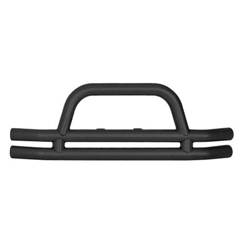 3 Inch Front Tube Bumper with Hoop inTextured Black Powder Coat