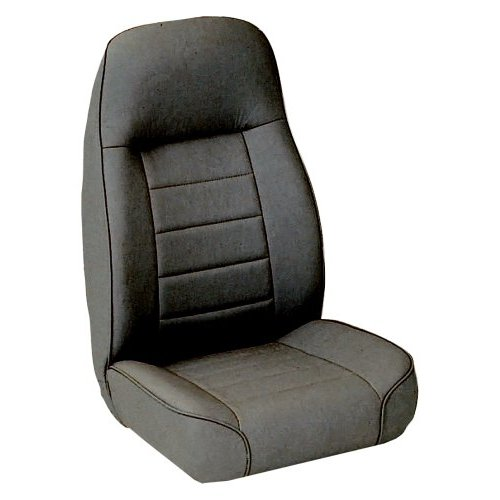Standard Bucket Seat in Charcoal Light Gray Denim