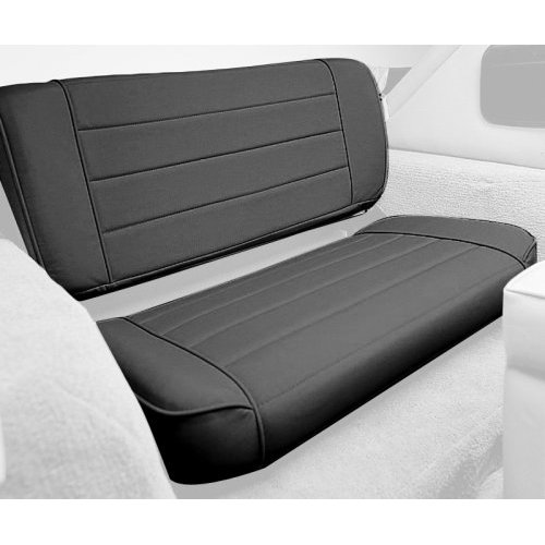Fold and Tumble Rear Seat in Black Vinyl