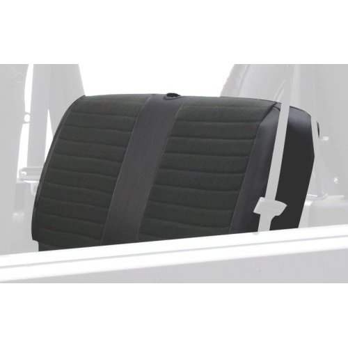 XRC Rear Seat Cover in Black on Black