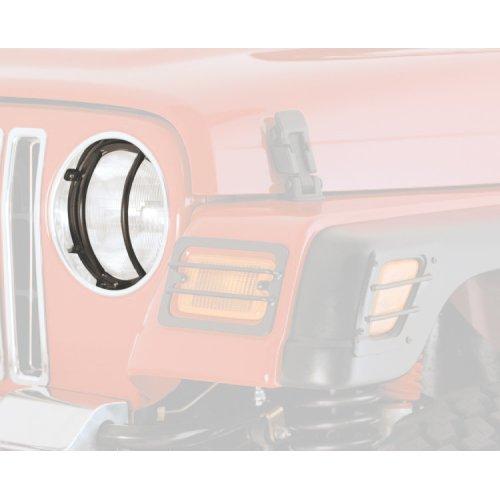 Euro Light Headlight/Turn Signal Covers, Black