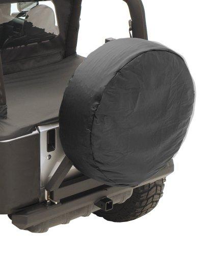 30-32 inch Spare Tire Cover, Black Vinyl