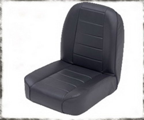 Fold and Tumble Rear Seat in Black Denim