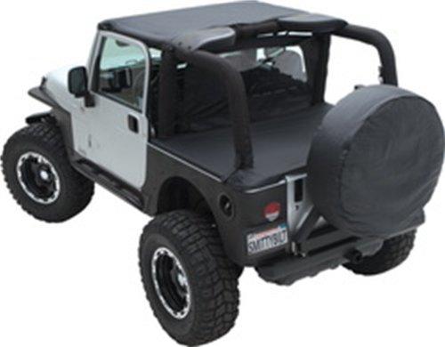Jeep Tonneau Cover in Black Diamond