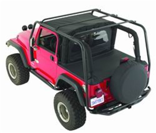 SCR ROOF RACK JK 4DR Box 1 of 2, Front Leg