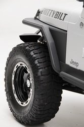 "XRC Armor Front Tube Fenders with 3"" Flare"