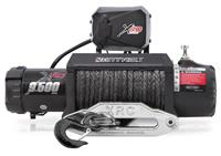 XRC-9.5K Winch Synthetic Rope Gen2, With Aluminum Fairlead