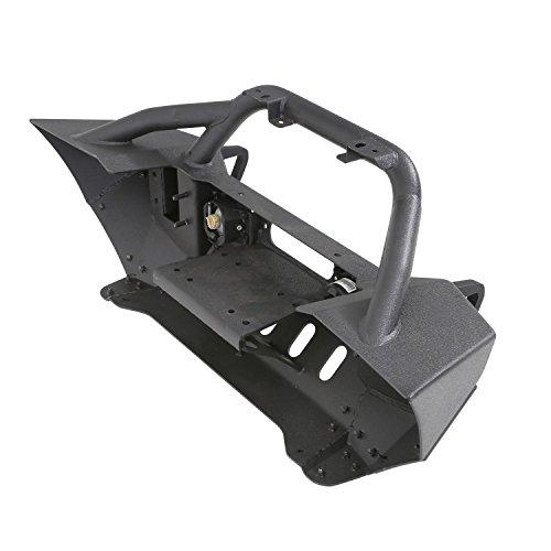 Smittybilt XRC Gen2 Front Bumper W/Winch Plate - Black Textured 76807