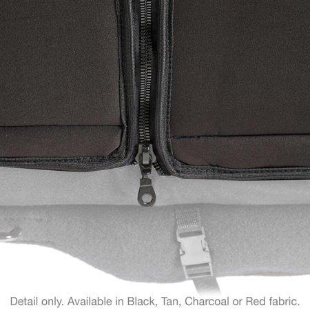 Smittybilt NEOPRENE SEAT COVER SET FRONT/REAR - CHARCOAL 08-12 JK 4DR 471722