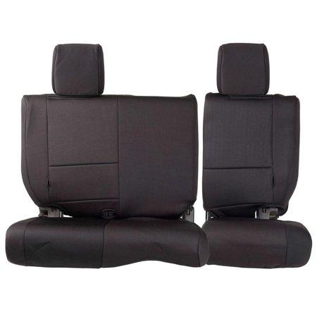 Smittybilt NEOPRENE SEAT COVER SET FRONT/REAR - BLACK 07 JK 4DR 471801