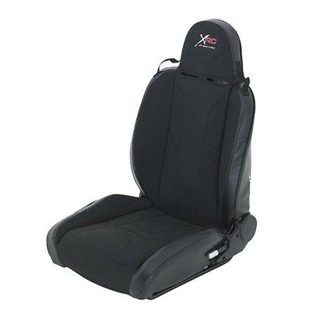 XRC SEAT CVR BLACK DRVR