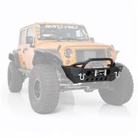 Smittybilt Smittybilt XRC Gen2 Front Bumper with Winch Plate - Light Texture Finish (Black) - 76807LT 76807LT