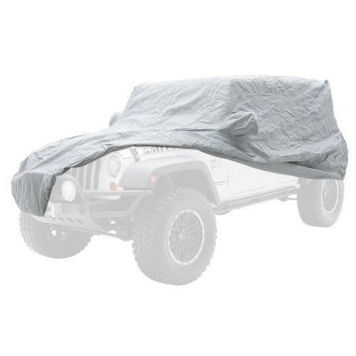 04-06 WRANGLER UNLIMITED (LJ) COMPLETE COVER - W/STORAGE BAG, LOCK & CABLE - GRAY