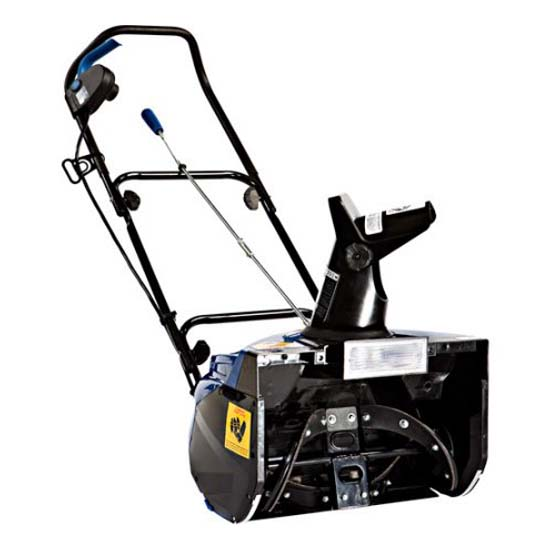 Snow Joe SJ621 Electric Single Stage Snow Thrower , 18-Inch + 13.5 Amp Motor , Headlights
