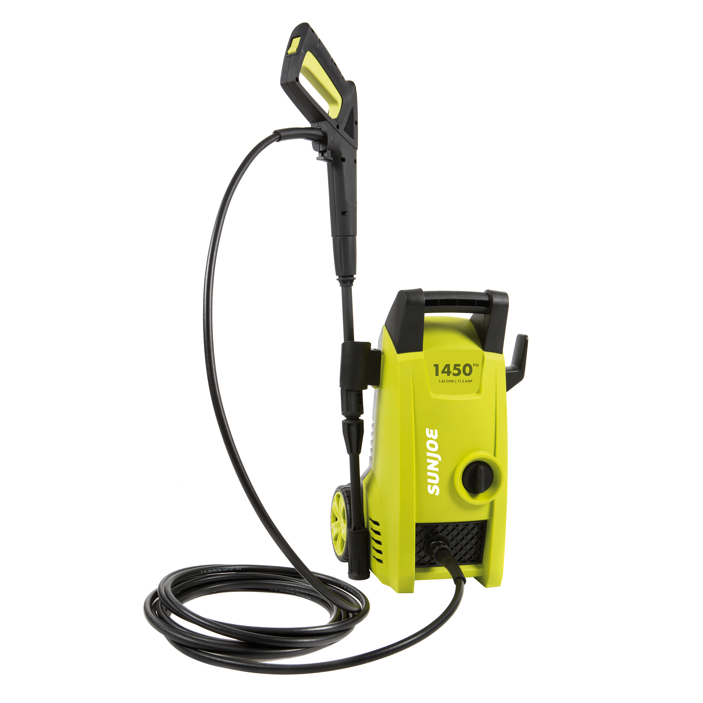 Sun Joe SPX1000 Electric Pressure Washer | 1450 PSI + 1.45 GPM + 11.5-Amp