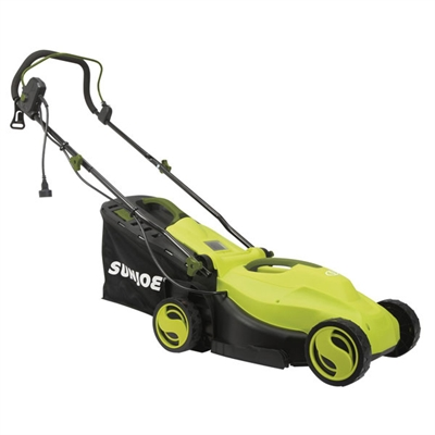 Sun Elec Lawn Mower 12Amp Grn