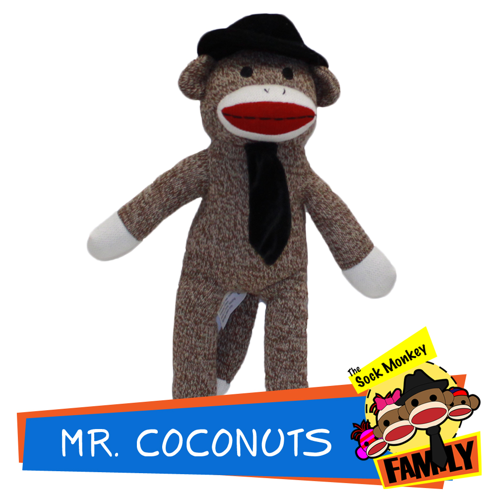Mr. Coconuts from The Sock Monkey Family