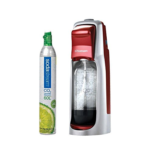 SODA STREAM 1012111016 RED JET SODA MAKER STARTER KIT MACHINE