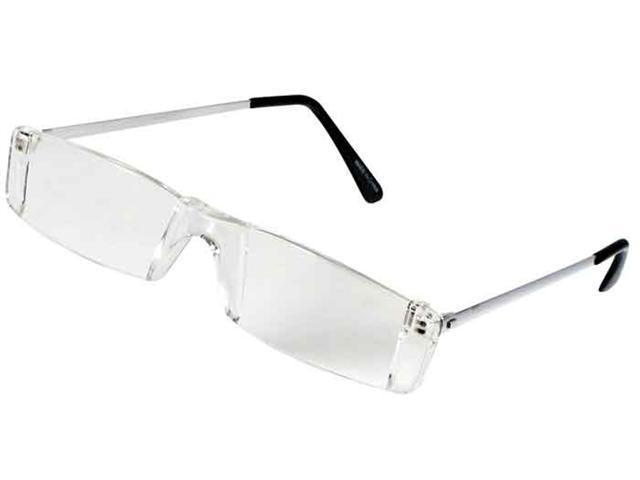 1.25X FRAMELESS READING GLASSES