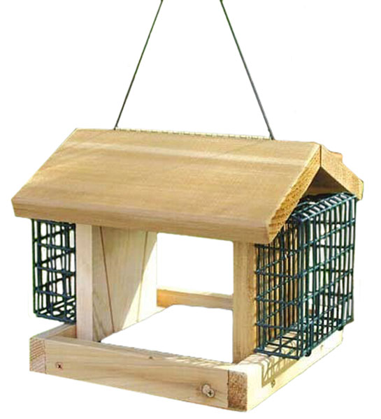 Plantation with 2 Suet Baskets