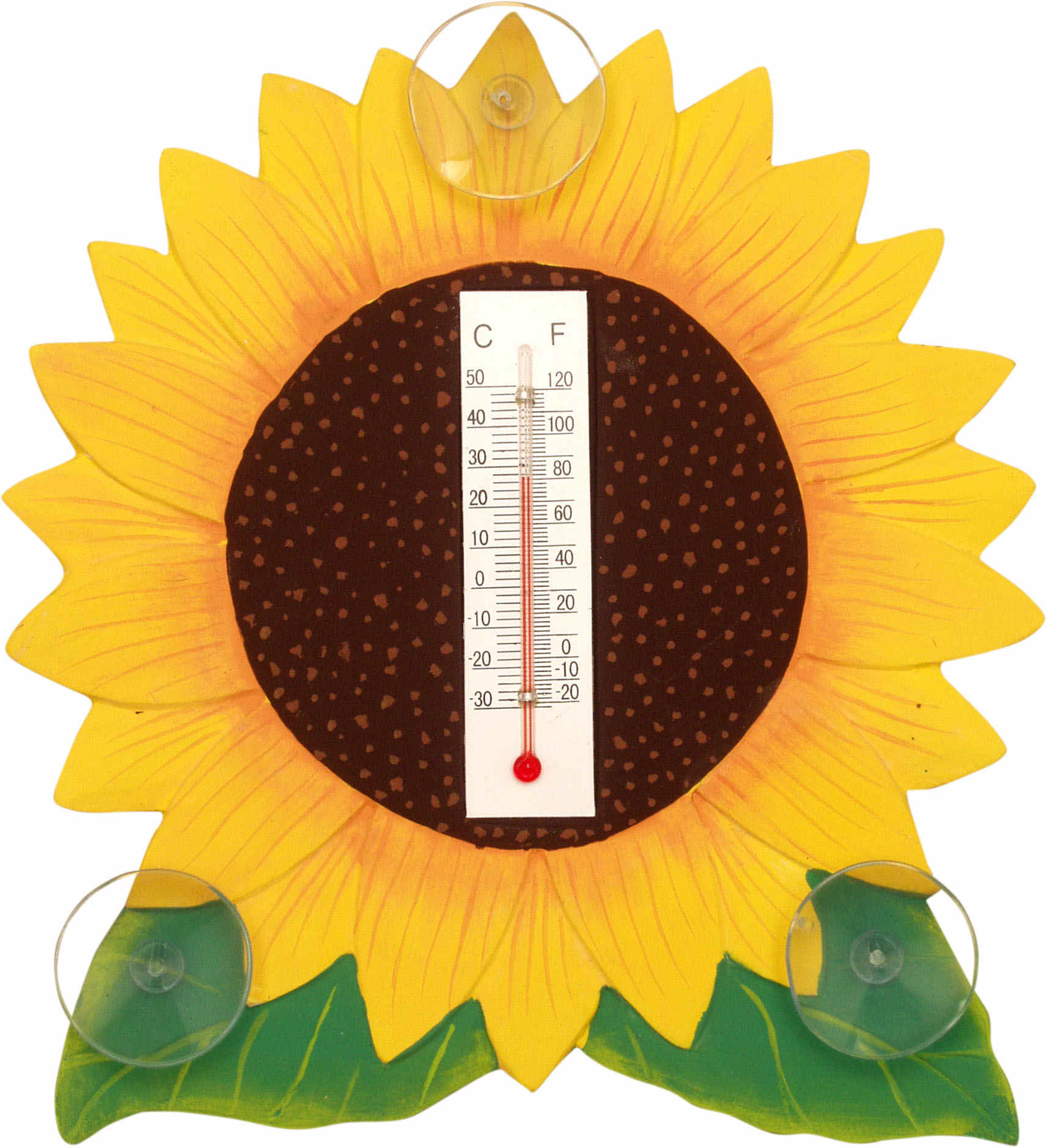 Sunflower Small Window Thermometer