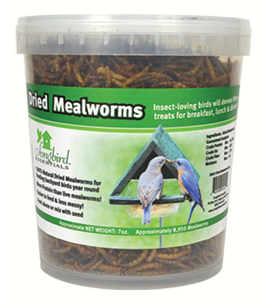 28.22 oz. Tub of Dried Mealworms