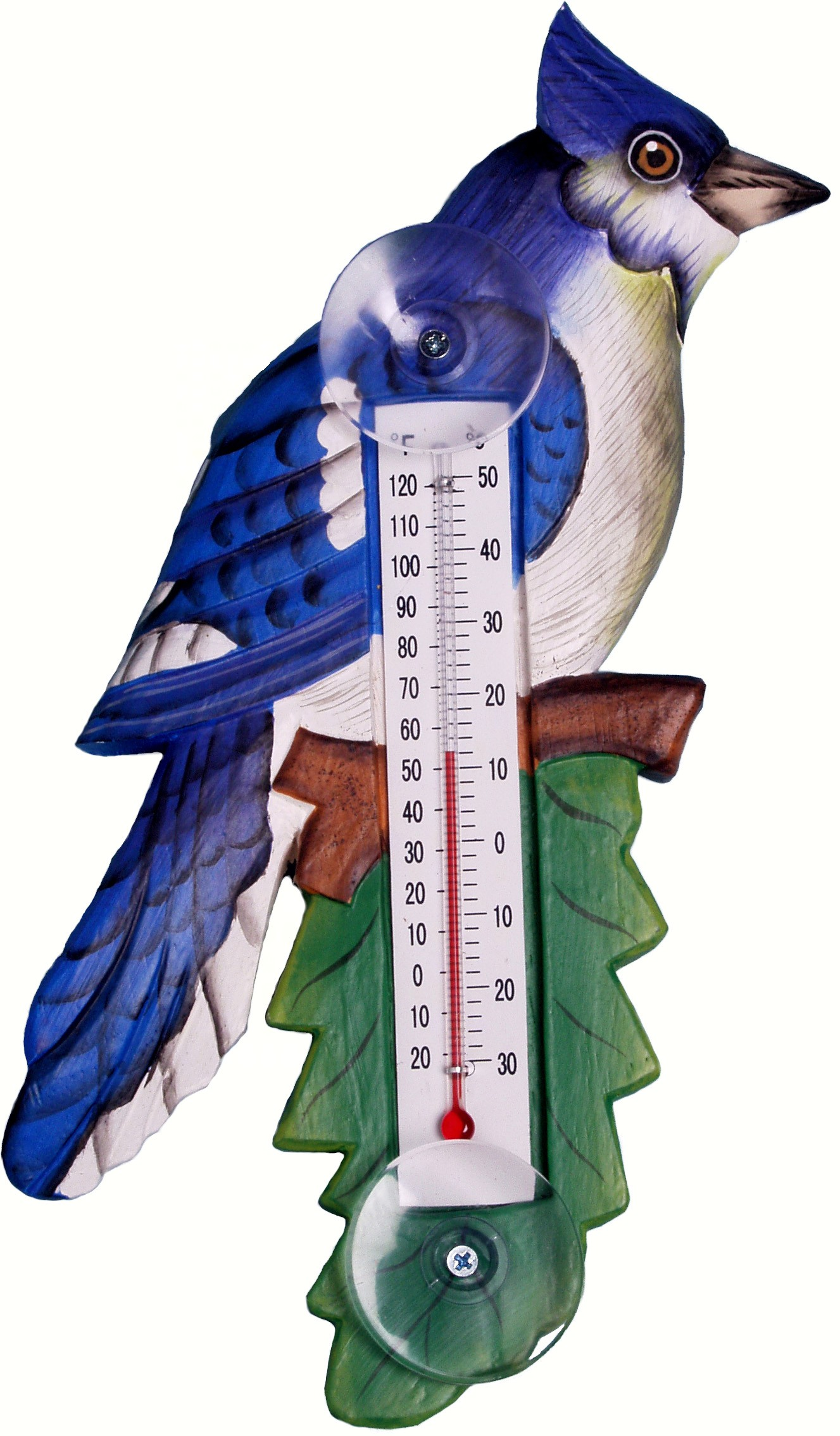 Thermometer Small Blue Jay