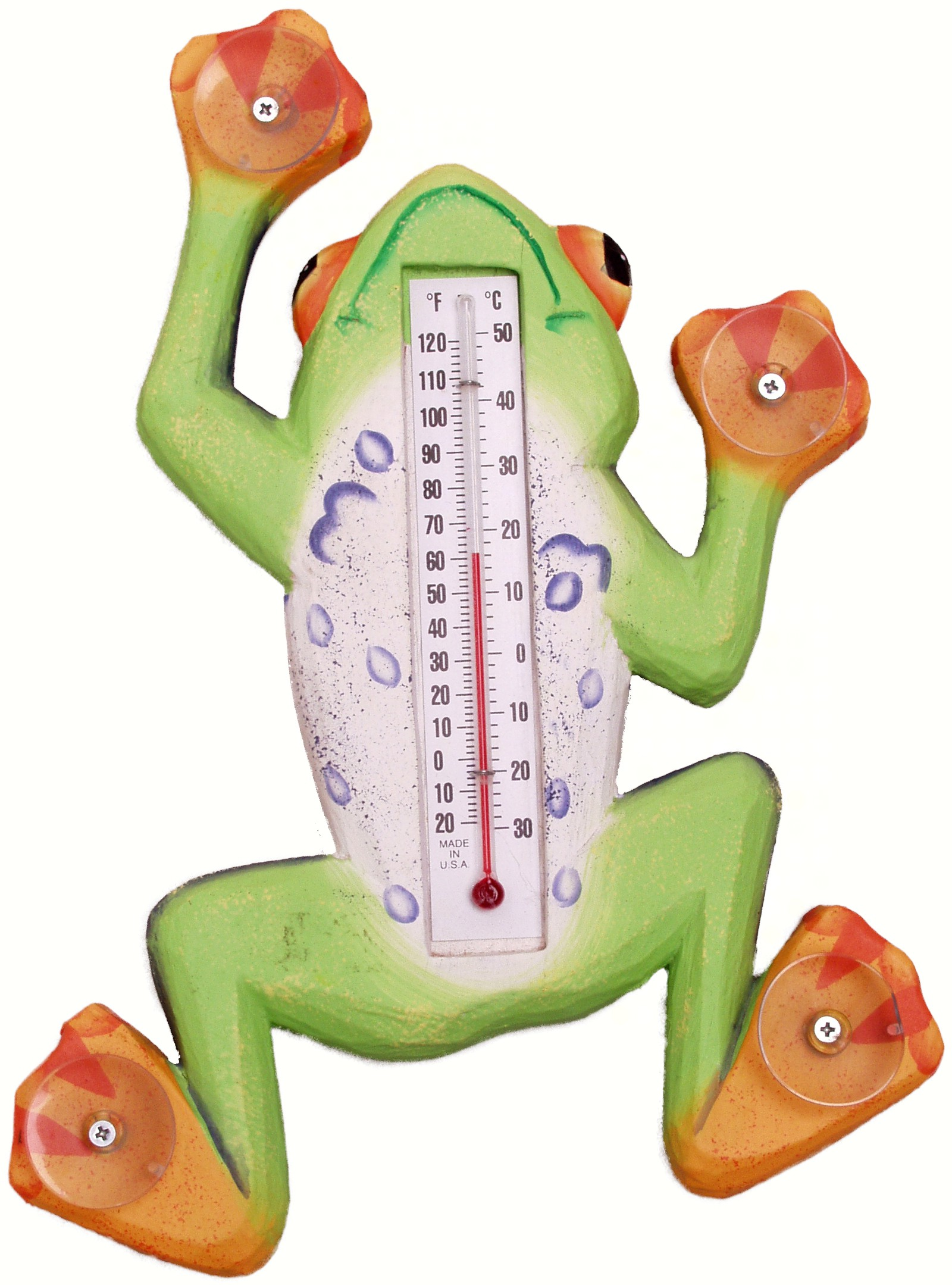 Climbing Tree Frog Small Window Thermometer