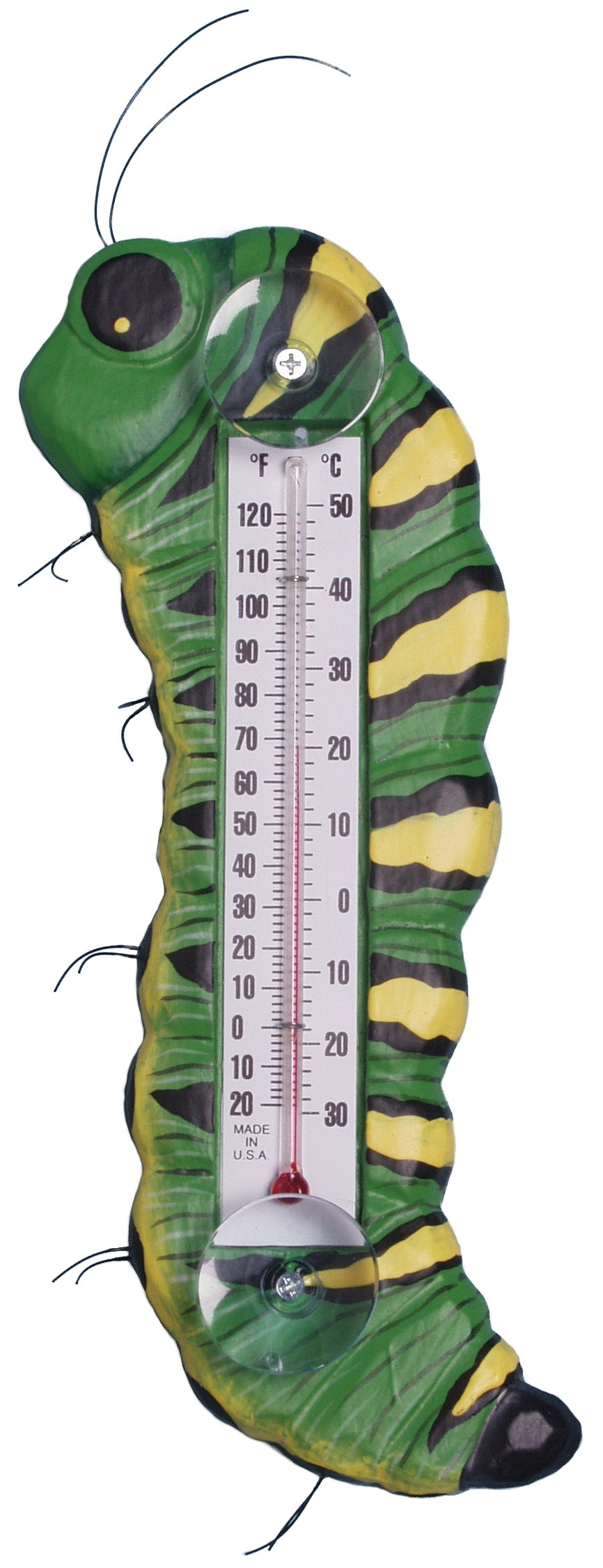 Caterpillar Small Window Thermometer