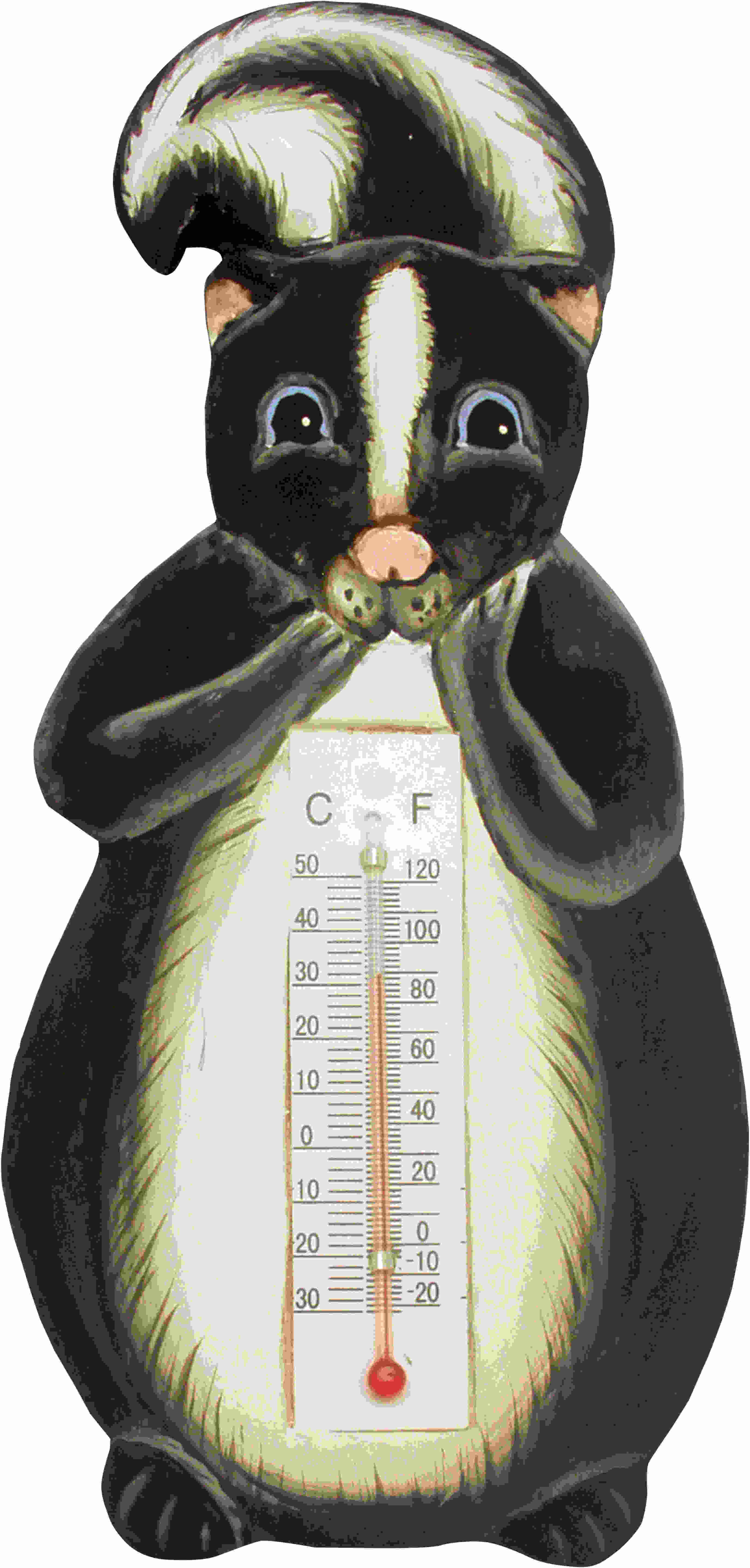 Thermometer Small Skunk