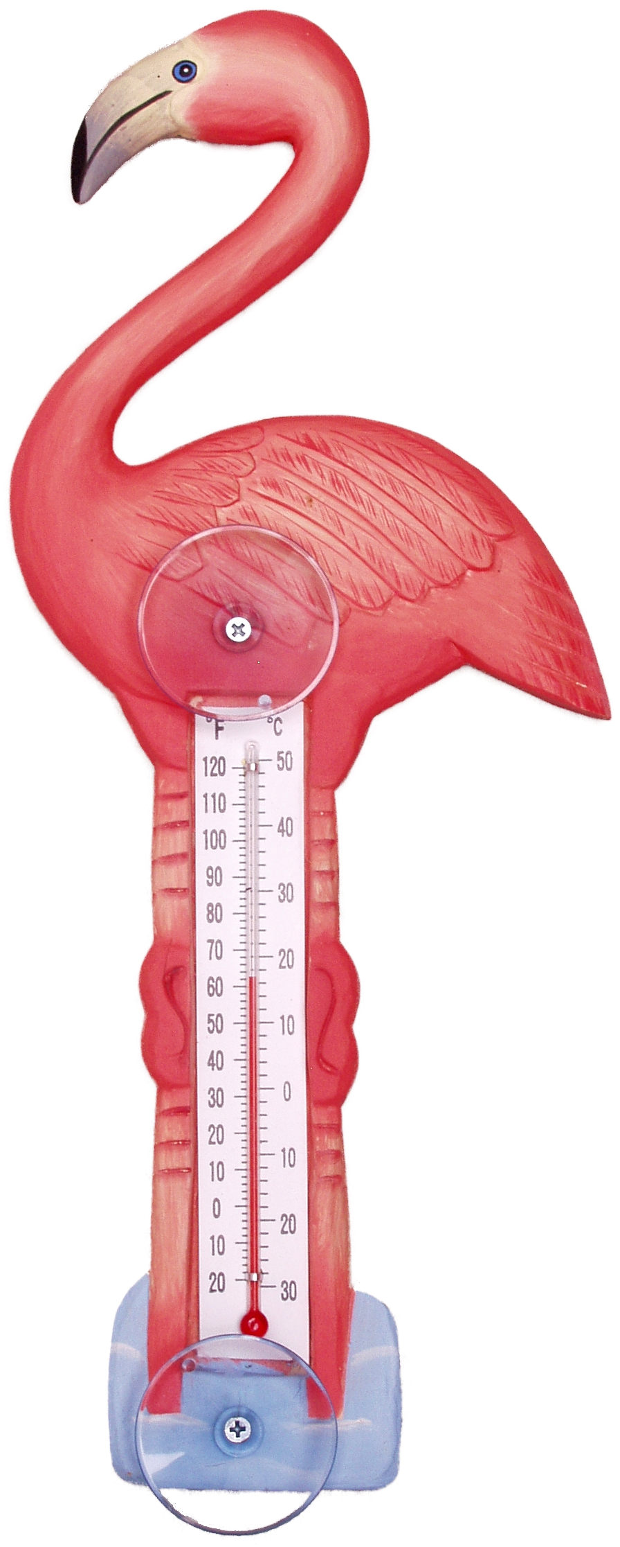 Flamingo Large Window Thermometer