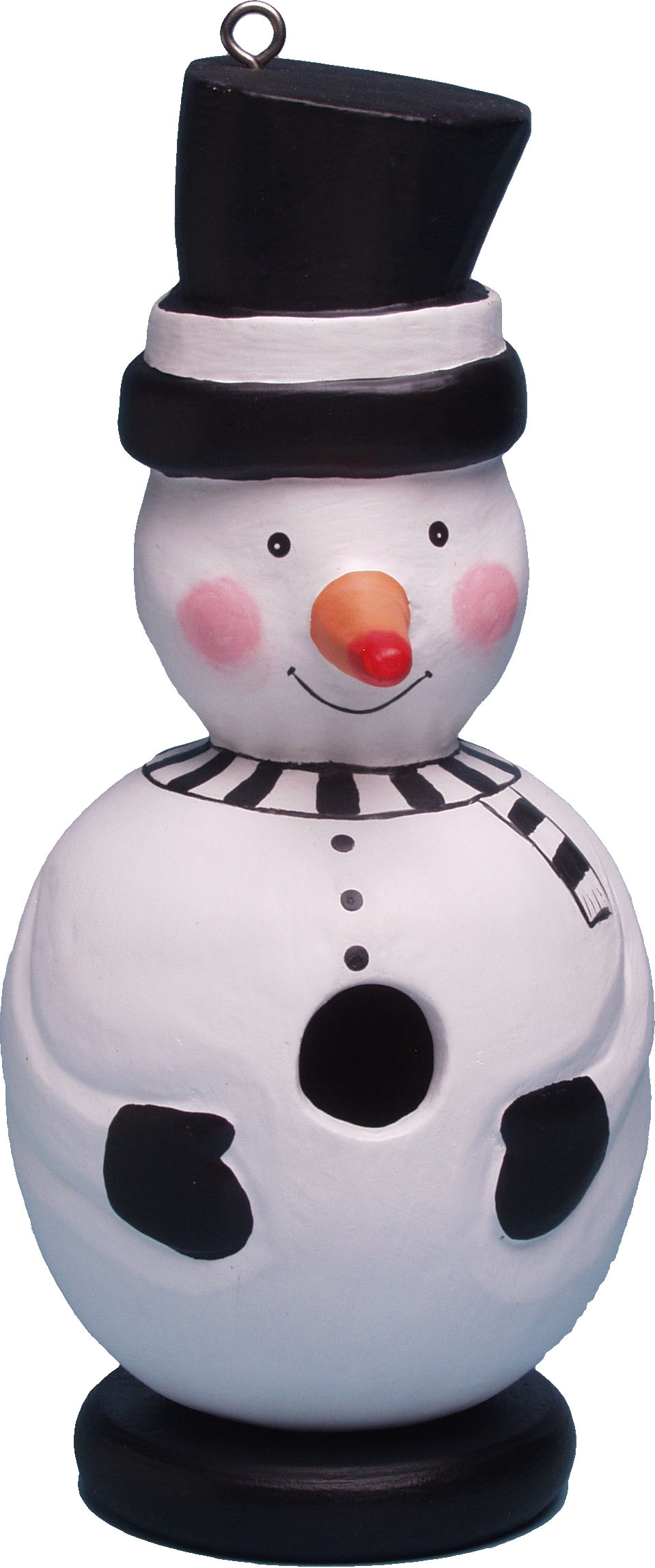 Songbird Essentials Snowman Birdhouse