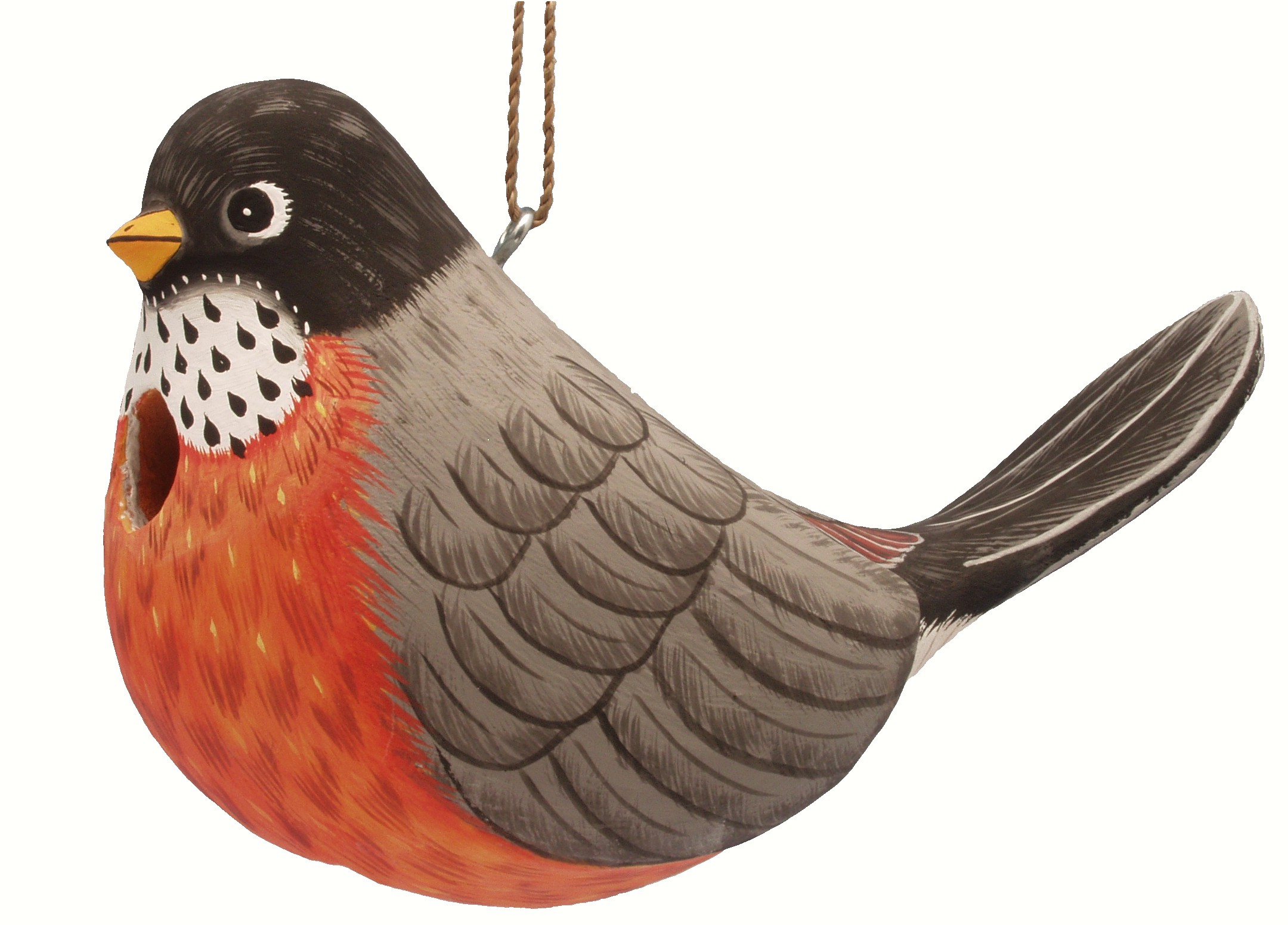 Fat Robin Birdhouse