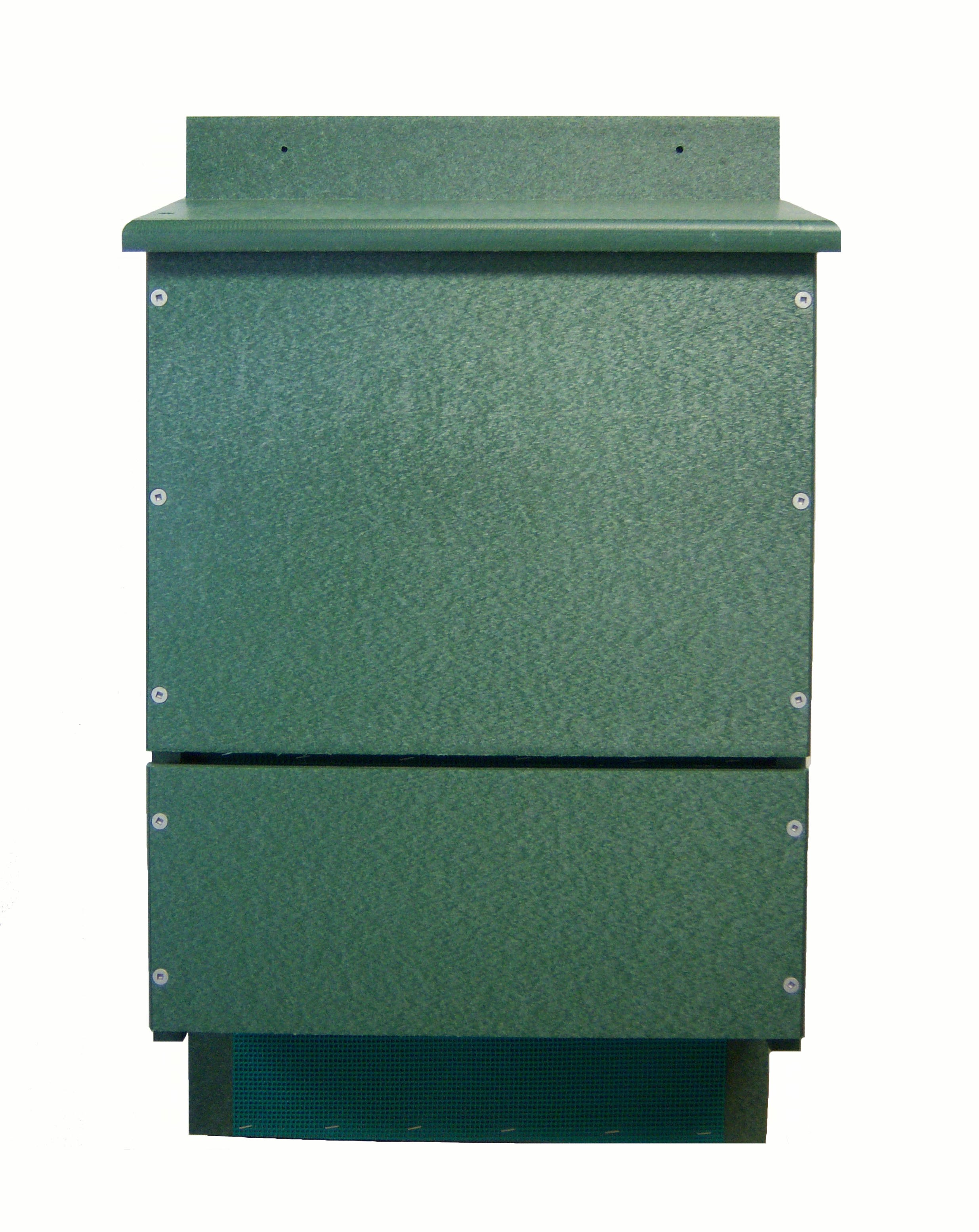 OBC Bat House Triple Chamber Poly Green