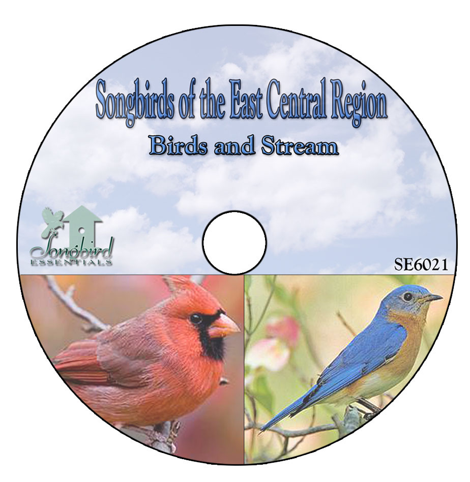 CD Songbirds of the East Central Region