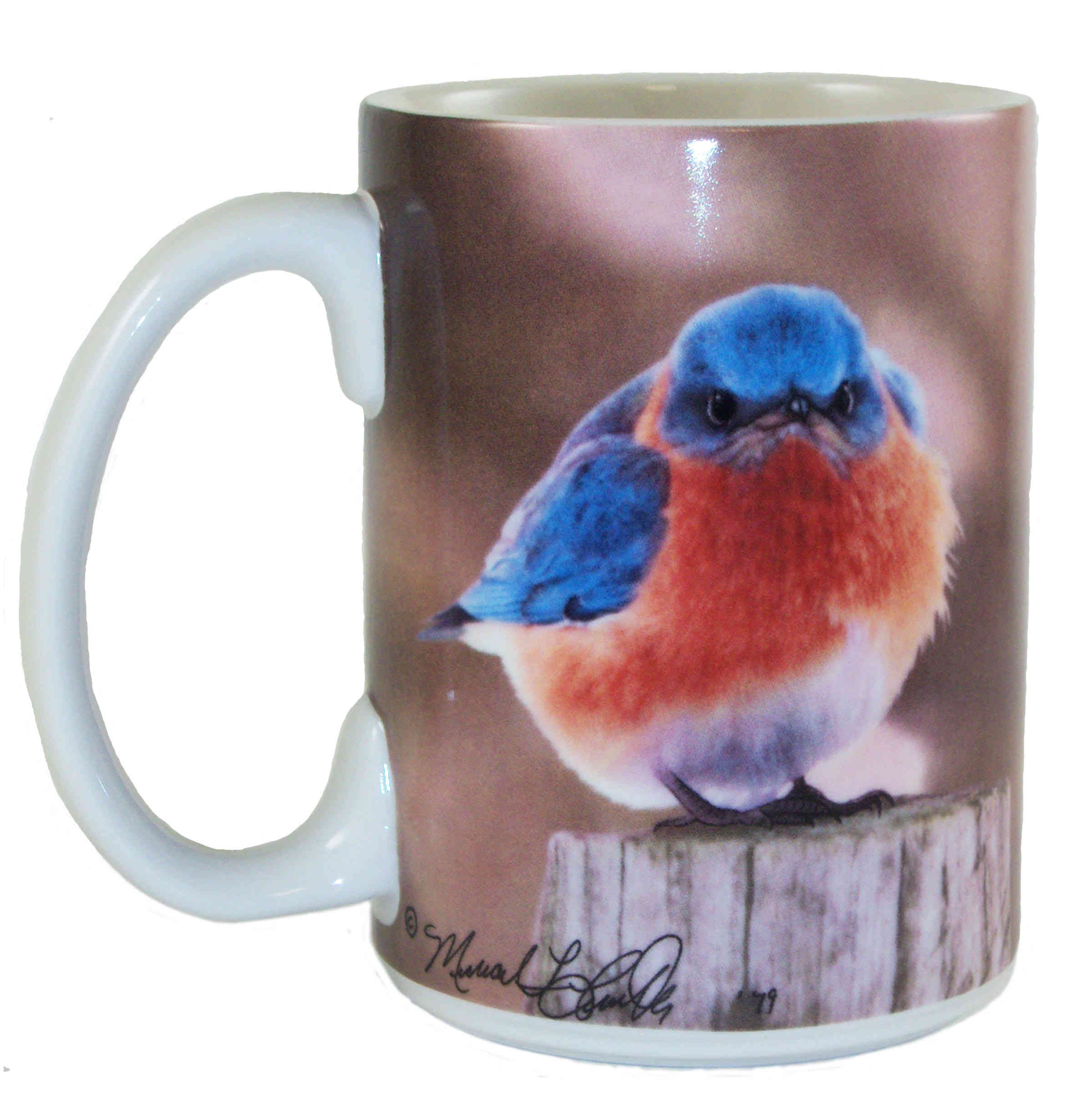 15 oz Mad Bluebird Mug